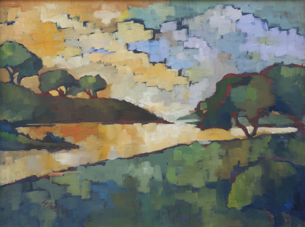 Light on the Water, Patchwork Sky by Erin Lee Gafill
