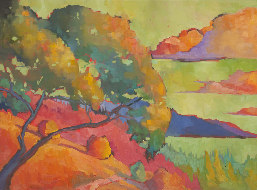 Oak Tree at Nepenthe by Erin Lee Gafill