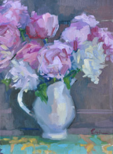 Peonies I by Erin Lee Gafill