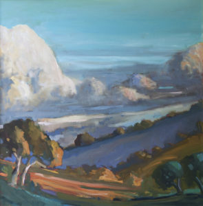 Clouds Over Carmel Valley by Erin Lee Gafill