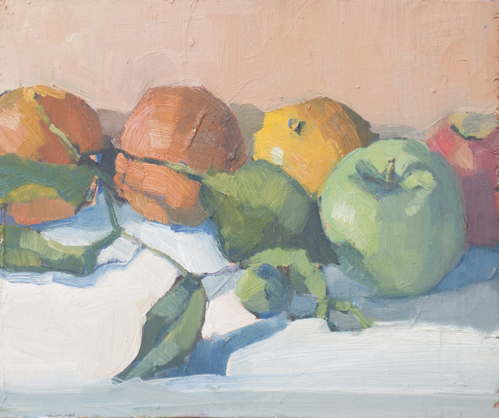 Tangerines and Apples by Erin Lee Gafill
