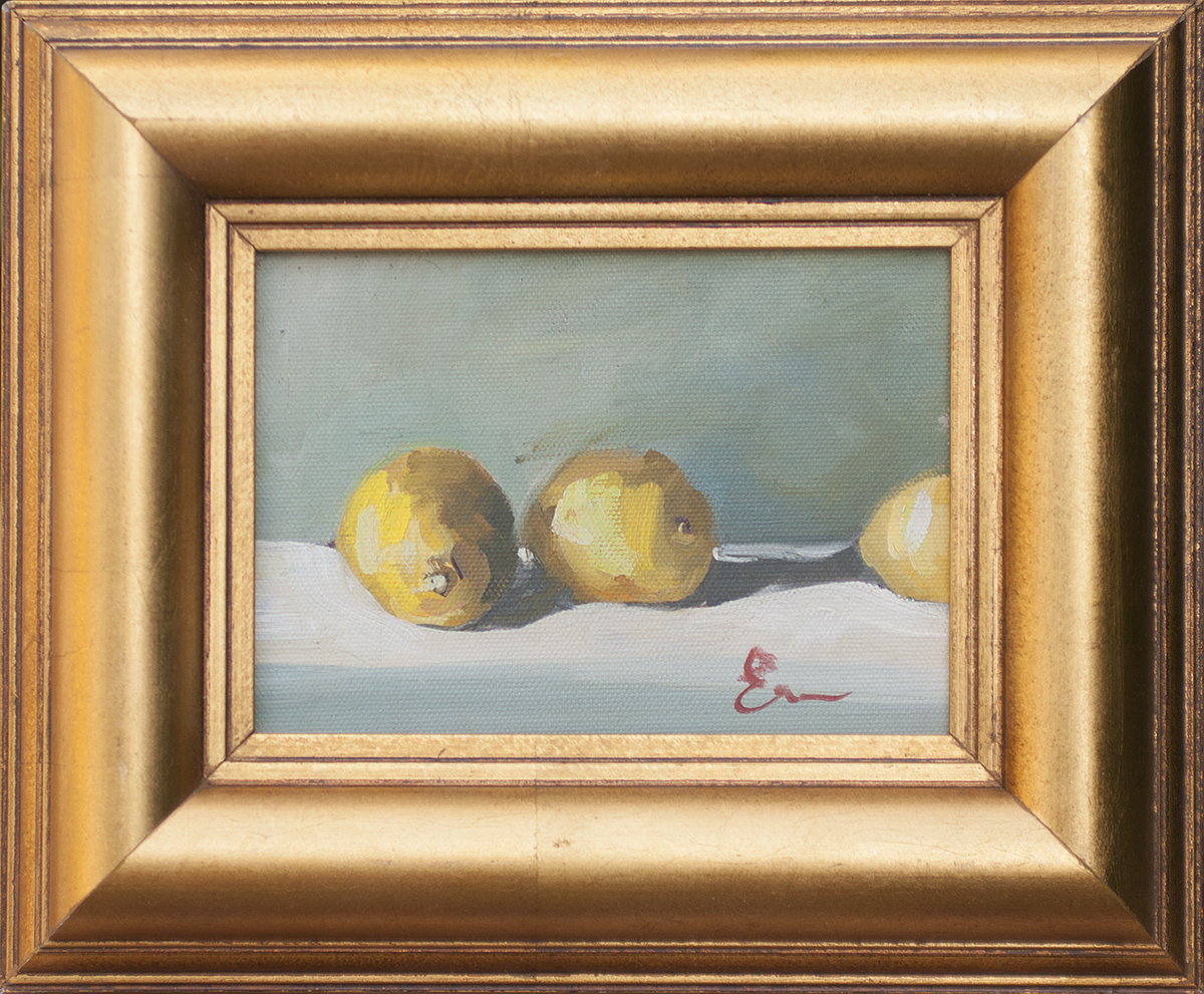 Lemons, Gray Wall by Erin Lee Gafill
