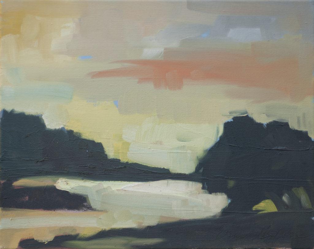 Land, Beach, Fog by Erin Lee Gafill