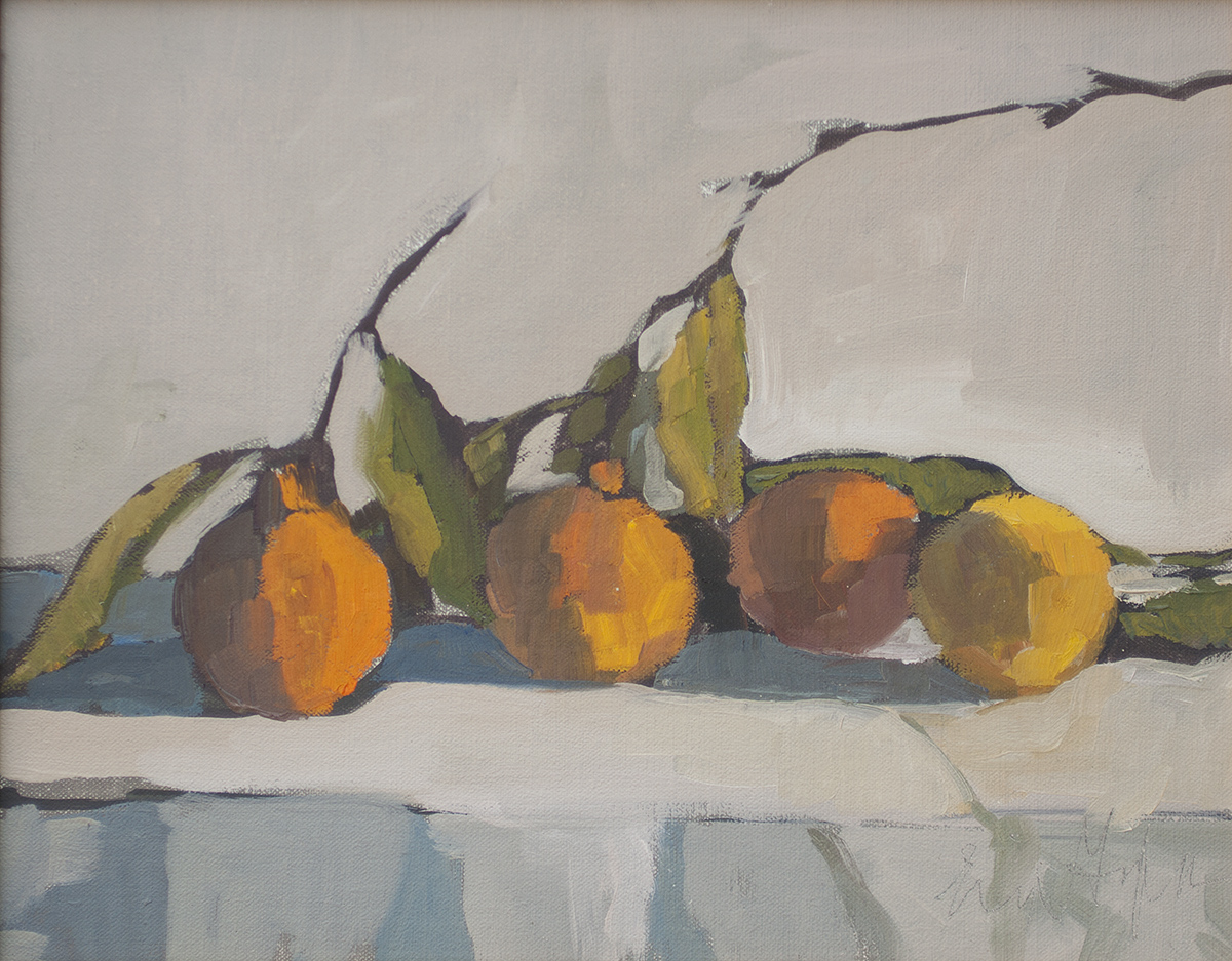 Tangerines II by Erin Lee Gafill