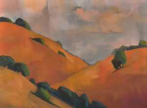 Old California, Golden Hill by Erin Lee Gafill