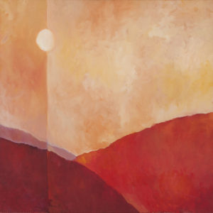 Moonrise, Return to Big Sur Valley by Erin Lee Gafill