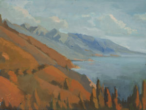 Big Sur Afternoon by Erin Lee Gafill