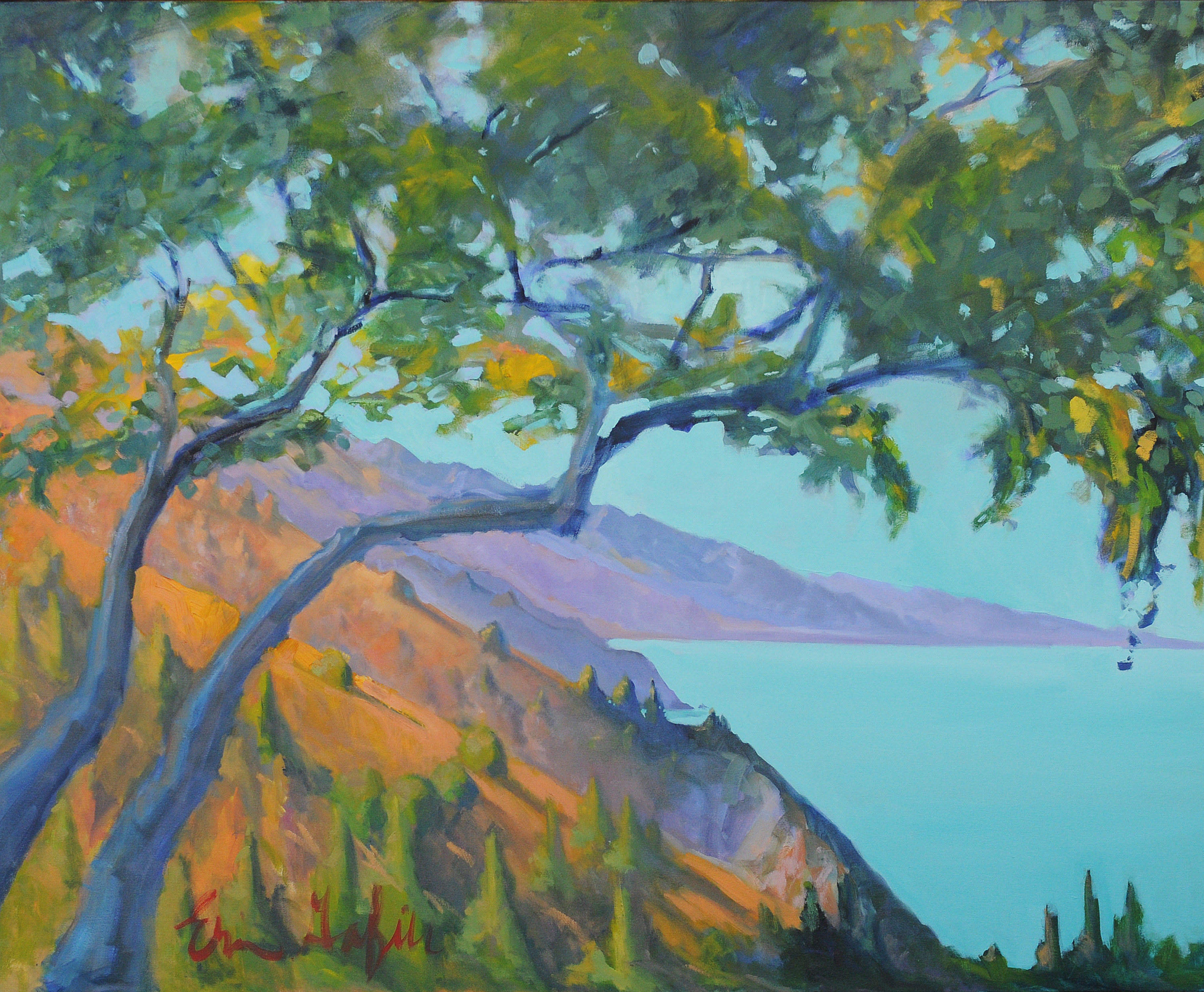 Big Sur, Glorious Day II by Erin Lee Gafill