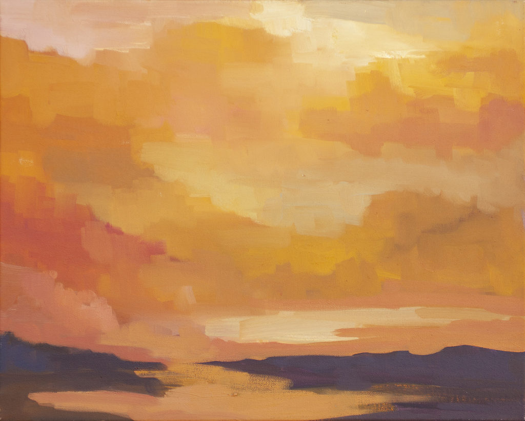 Setting Sun by Erin Lee Gafill