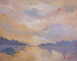 Rising Sun, Water's Edge by Erin Lee Gafill