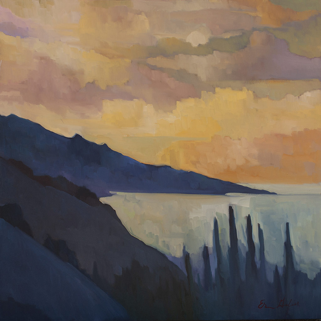 Blue Hills, Big Sur by Erin Lee Gafill