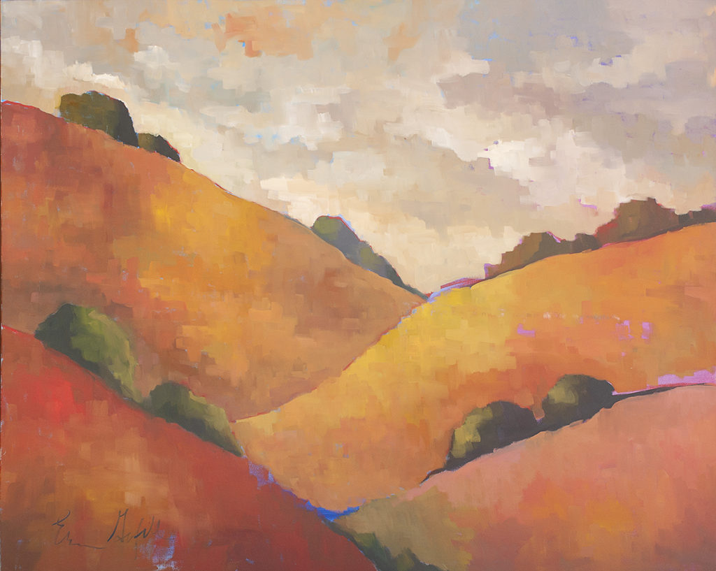 California Hills by Erin Lee Gafill