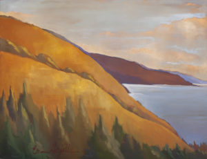South Coast, Gold and Gray by Erin Lee Gafill