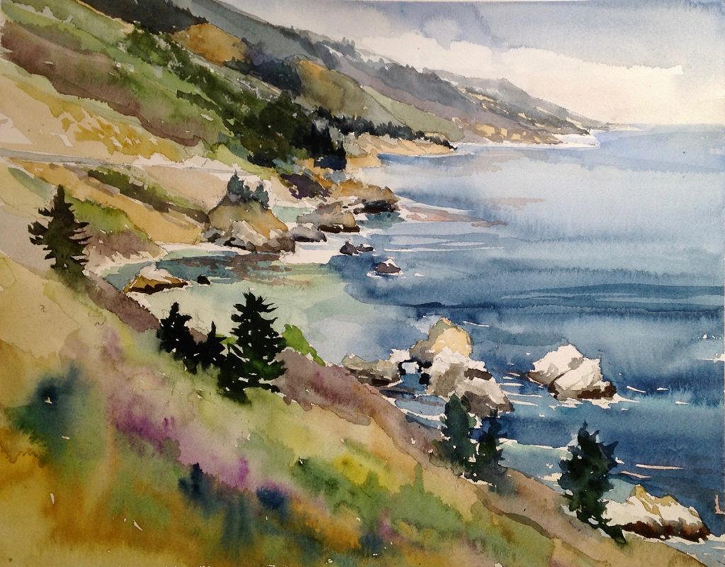 Big Sur Coast by Paul Rickard