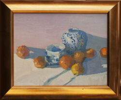 Still Life, Lemons and Tangerines