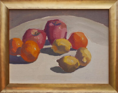 Apples, Lemons, Tangerines by Erin Lee Gafill