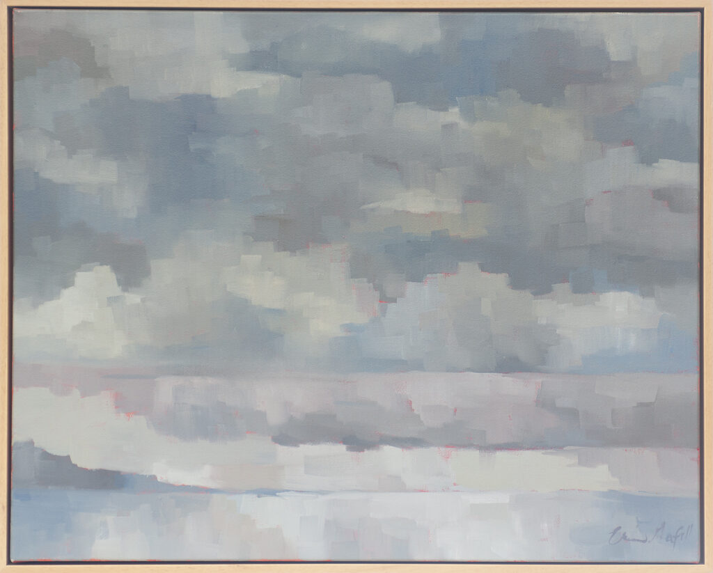 Clouds over Sea by Erin Lee Gafill