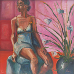 Bettina, Pinks, Reds, and Blues by Erin Lee Gafill