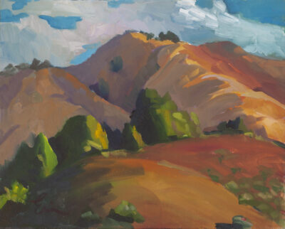 Eastern View, Big Sur by Erin Lee Gafill