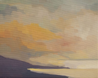 Clouds, Coast, Dusk by Erin Lee Gafill