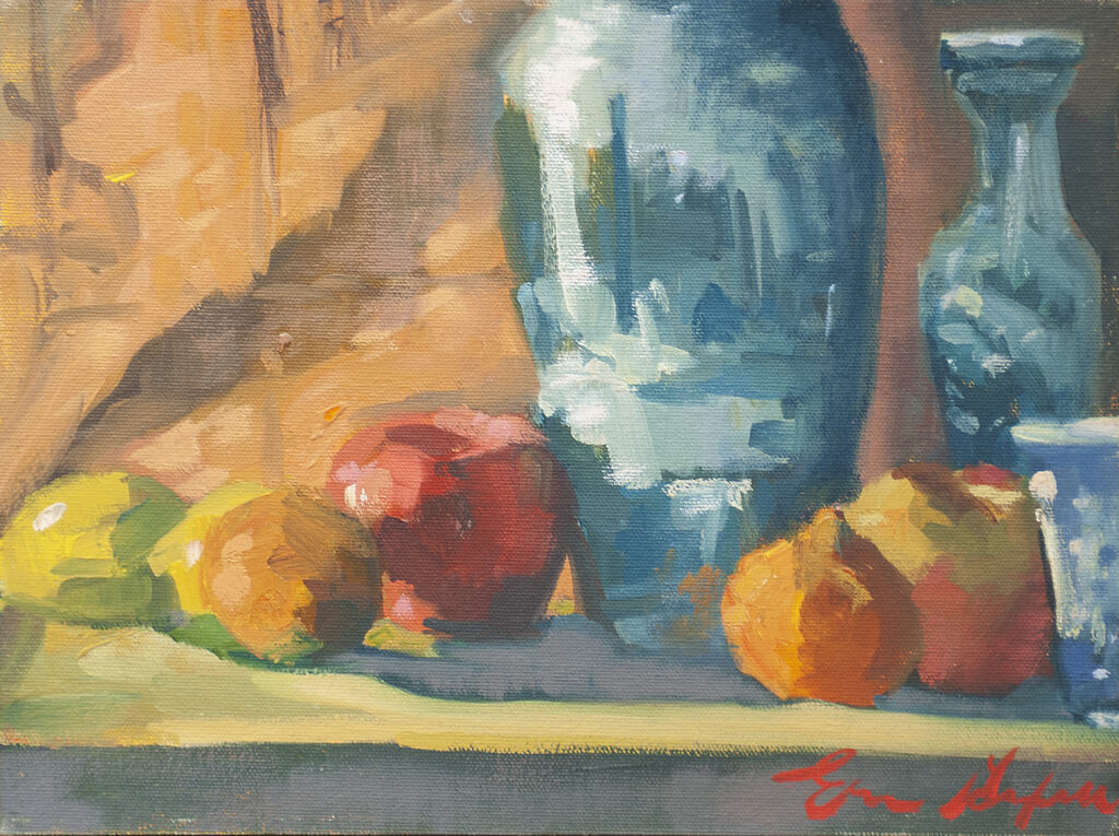 Chinese Pots, Fruit by Erin Lee Gafill