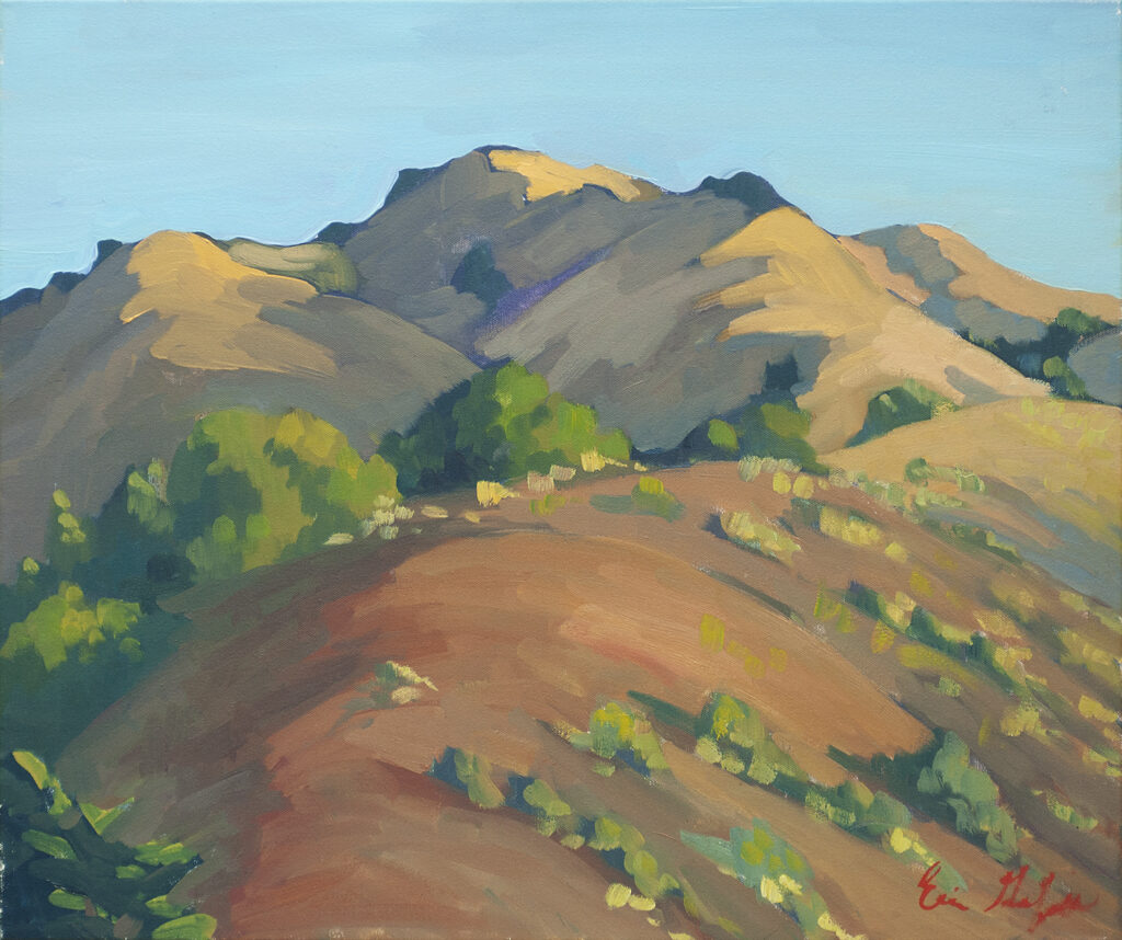 California Hills, Morning by Erin Lee Gafill