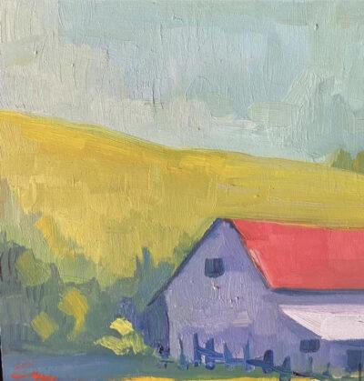 Barn, Field, Sky by Erin Lee Gafill