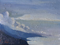Clouds Over Big Sur by Erin Lee Gafill