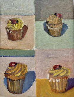 Four Cupcakes by Erin Lee Gafill