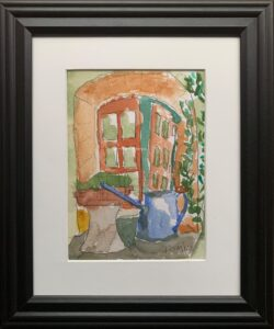Watering Can, Spannocchia by Tom Birmingham