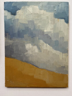 Clouds, Summer by Erin Lee Gafill