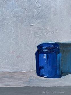 Blue Cobalt Jar by Erin Lee Gafill