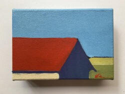 Barn, Red Roof by Erin Lee Gafill
