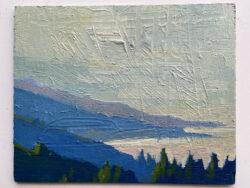 Big Sur, Southcoast, Skidmarks by Erin Lee Gafill
